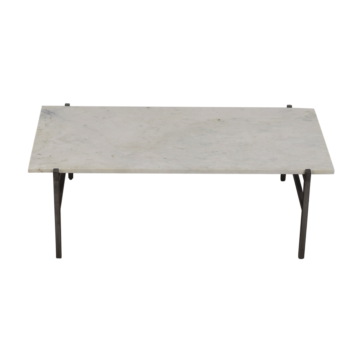 70 off pottery barn pottery barn wood rectangular coffee table