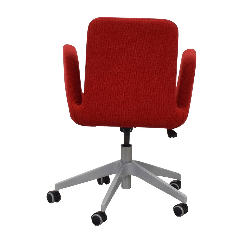 51% OFF   IKEA IKEA Patrik Rolling Desk Chair / Chairs