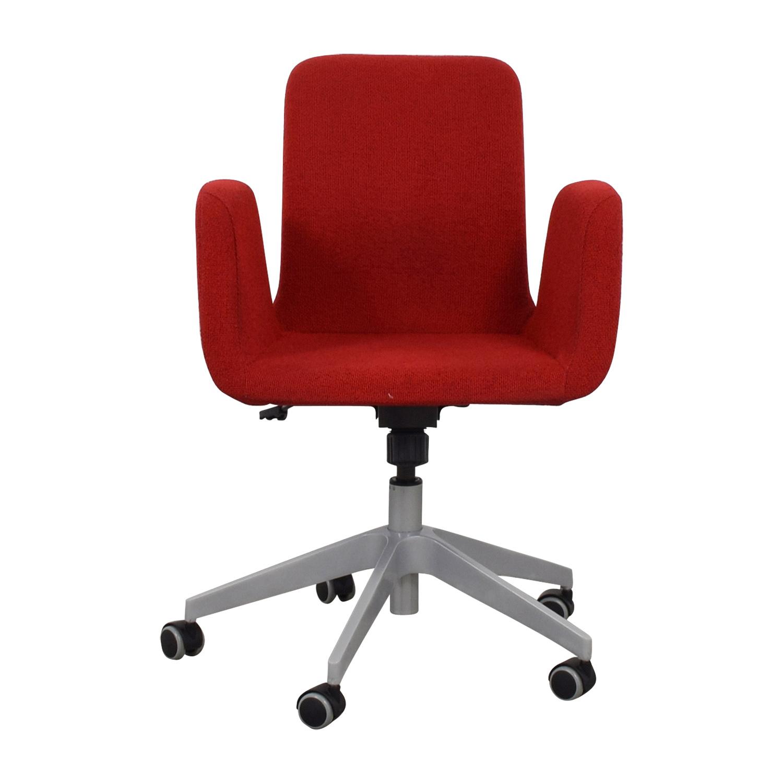Incredible 51 Off Ikea Ikea Patrik Rolling Desk Chair Chairs Inzonedesignstudio Interior Chair Design Inzonedesignstudiocom