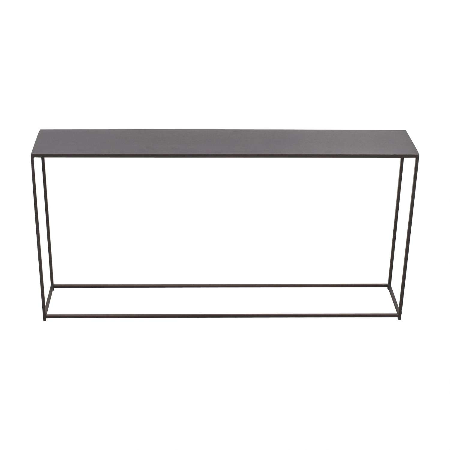 CB2 CB2 Mill Narrow Console Table for sale