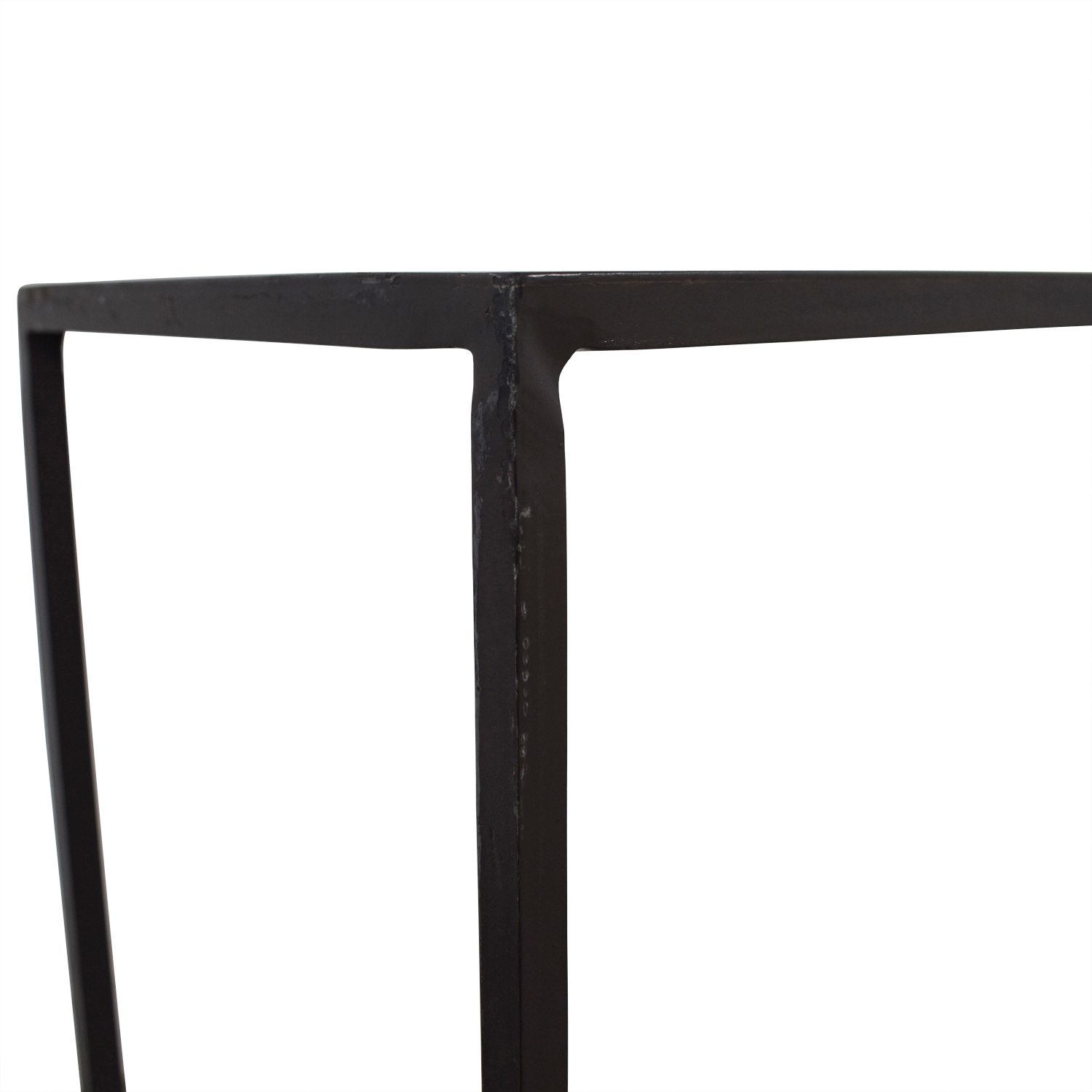 CB2 Mill Narrow Console Table sale