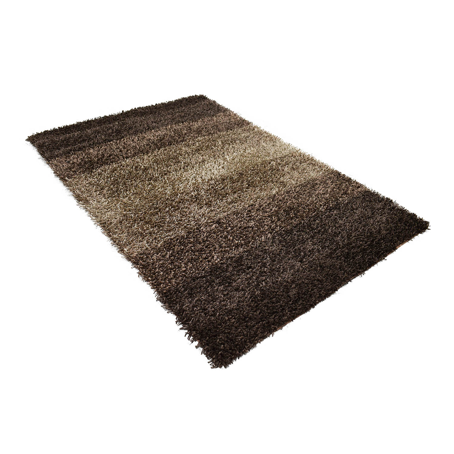 Spectrum Spectrum Brown Shag Rug for sale
