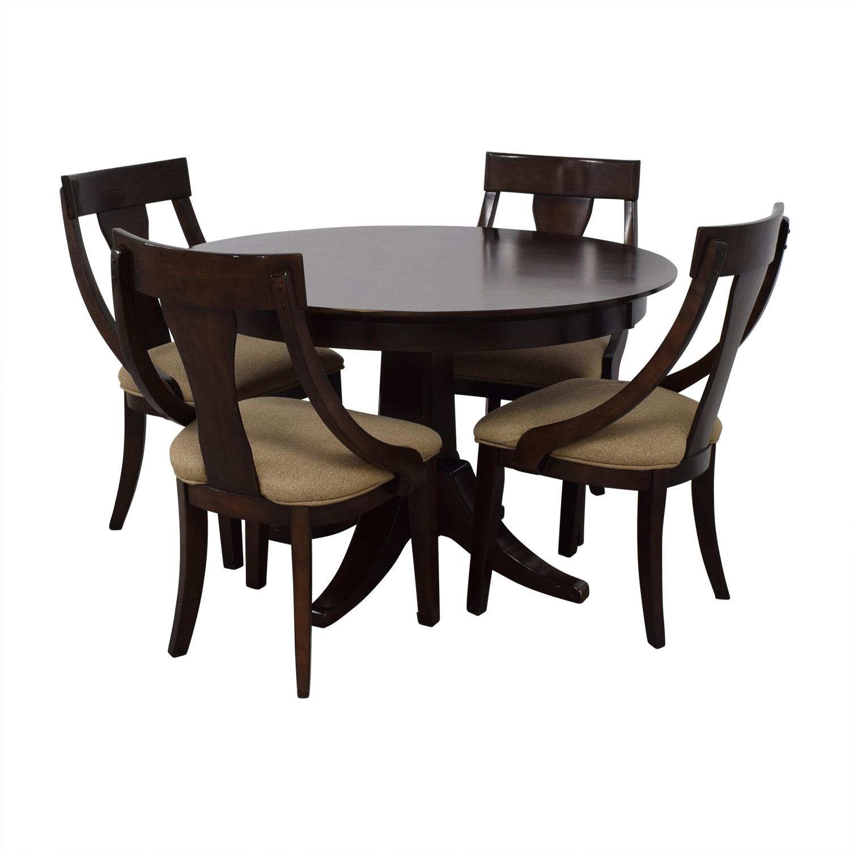 Whalen Furniture Whalen Furniture Wood Dining Set nj