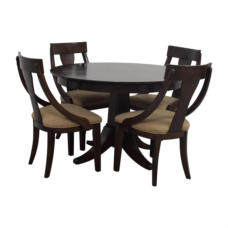 Whalen Furniture Whalen Furniture Wood Dining Set brown