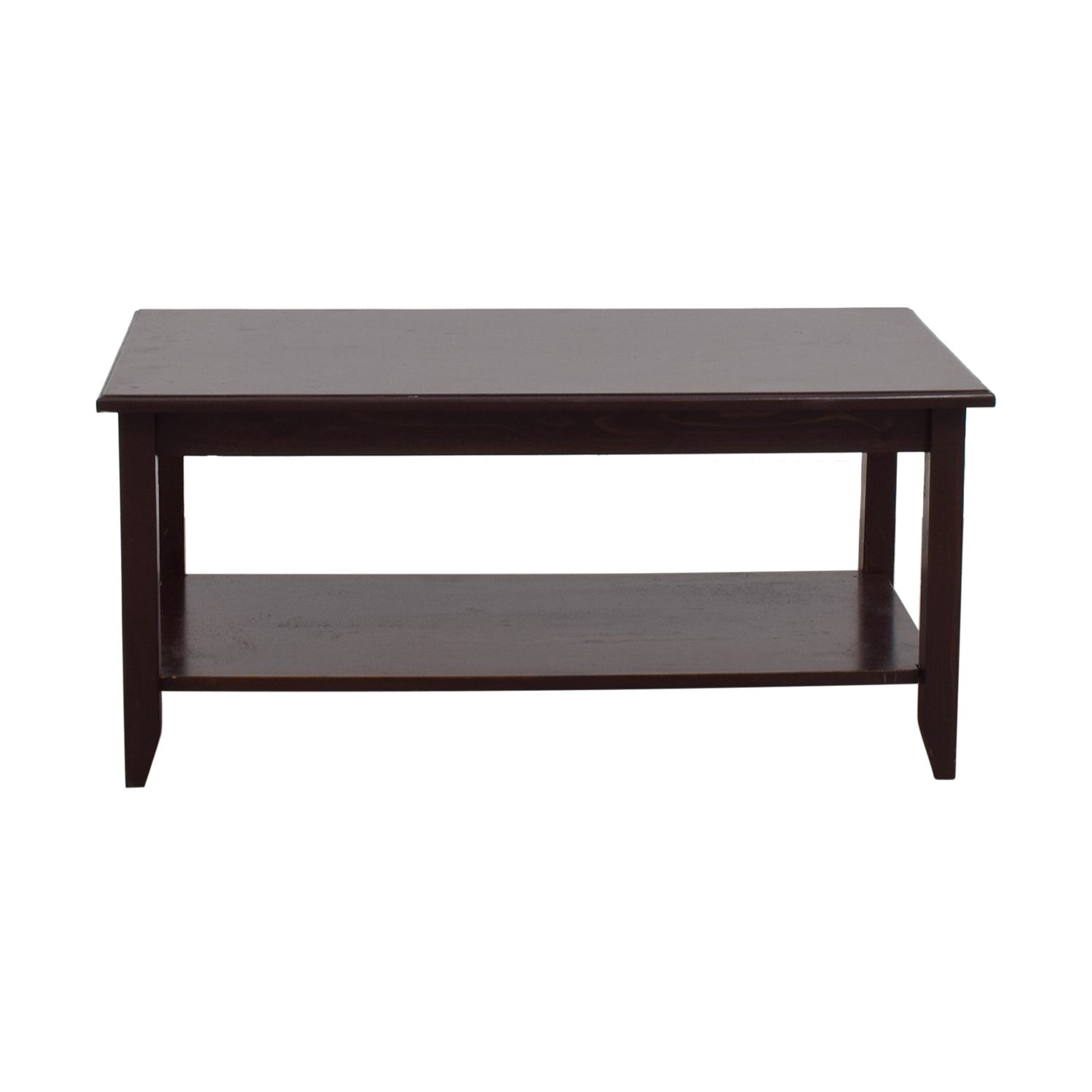55 OFF Gothic Furniture Gothic Furniture Coffee Table with Shelf