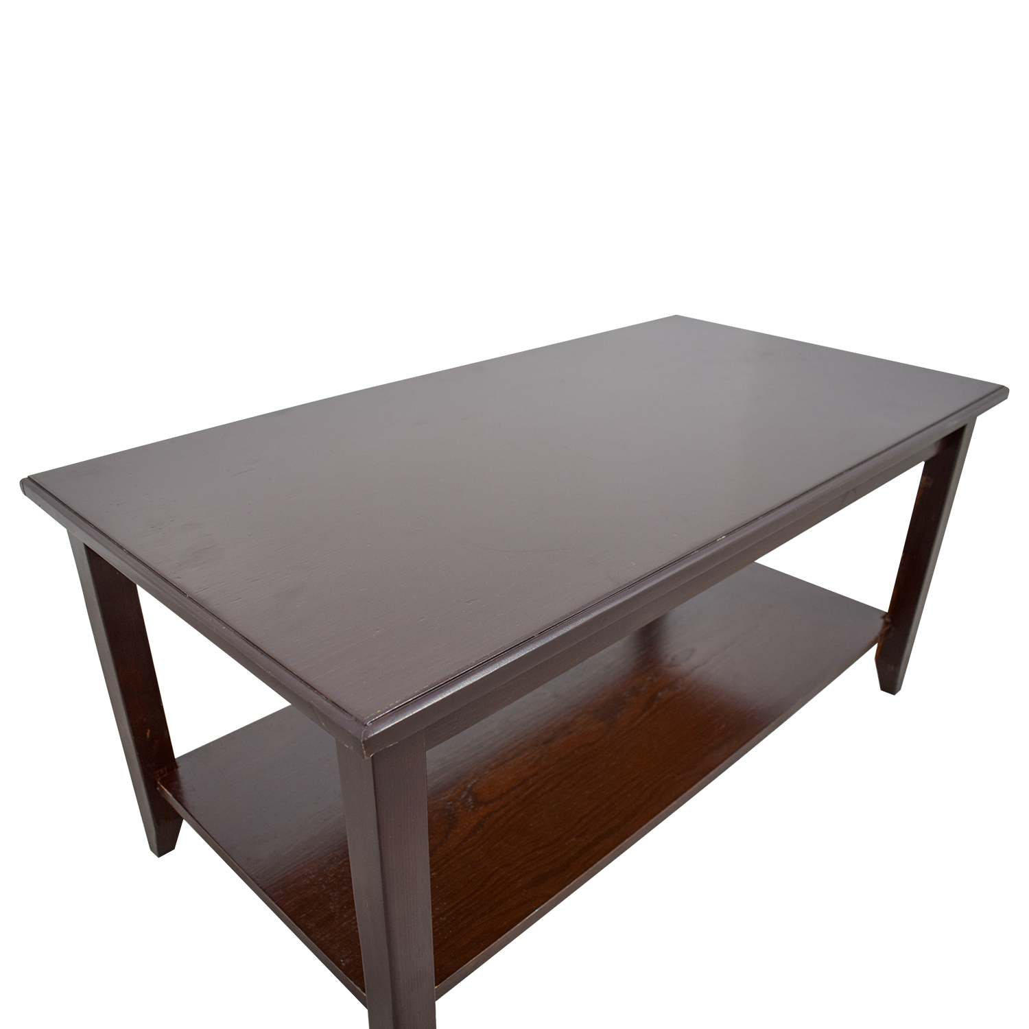 Gothic Furniture Gothic Furniture Coffee Table with Shelf second hand