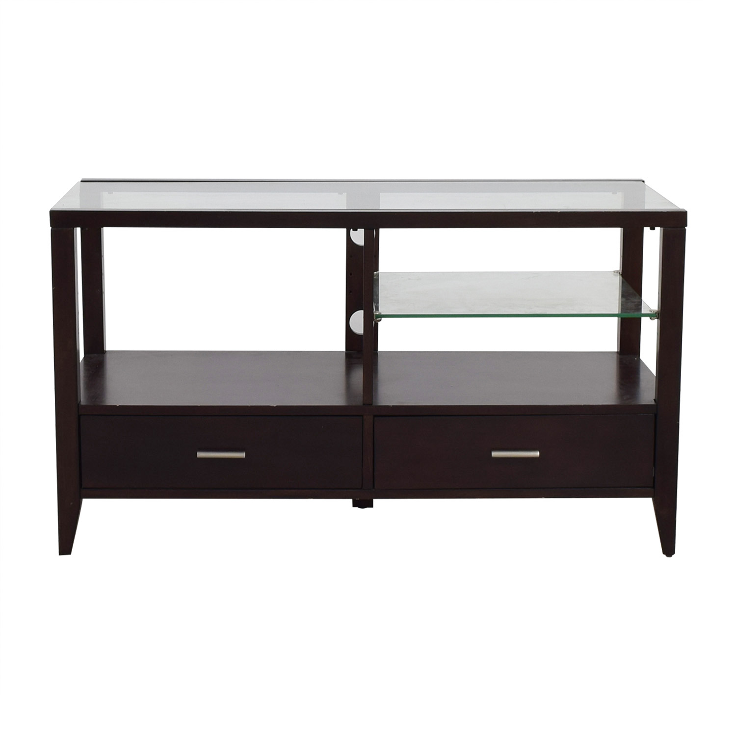 87 Off Belfort Furniture Belfort Furniture Wood And Glass