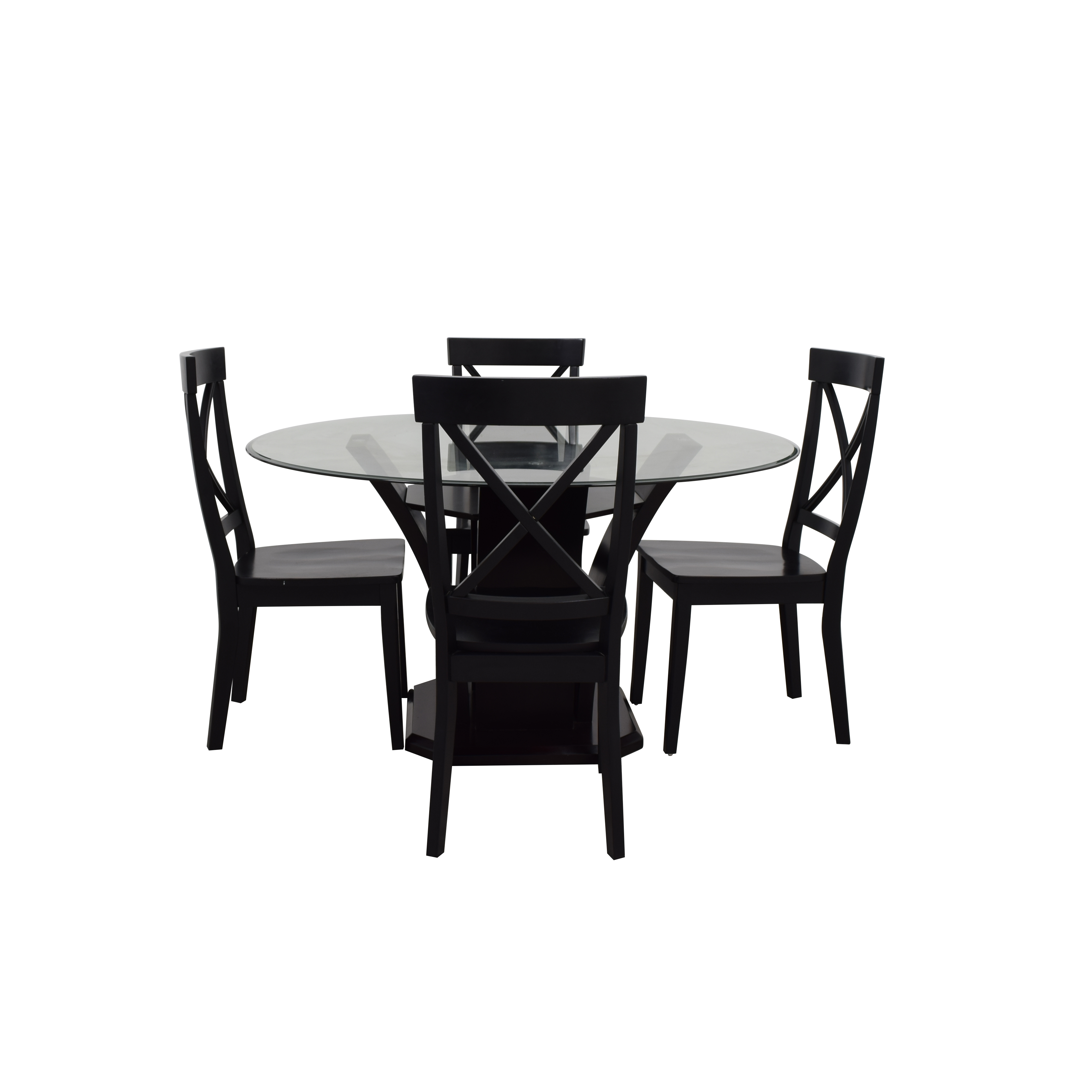 Raymour And Flanigan Dining Chairs: Raymour & Flanigan Raymour & Flanigan Glass