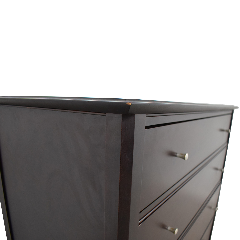 Baronet Baronet Wood Five-Drawer Dresser second hand