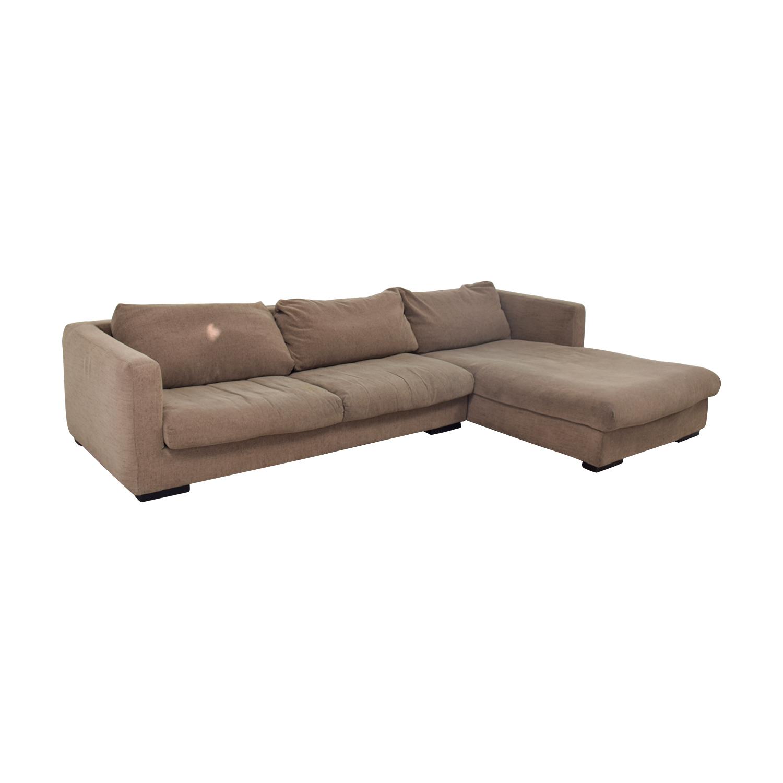 85 Off Plummers Furniture Plummers Furniture Tan Down