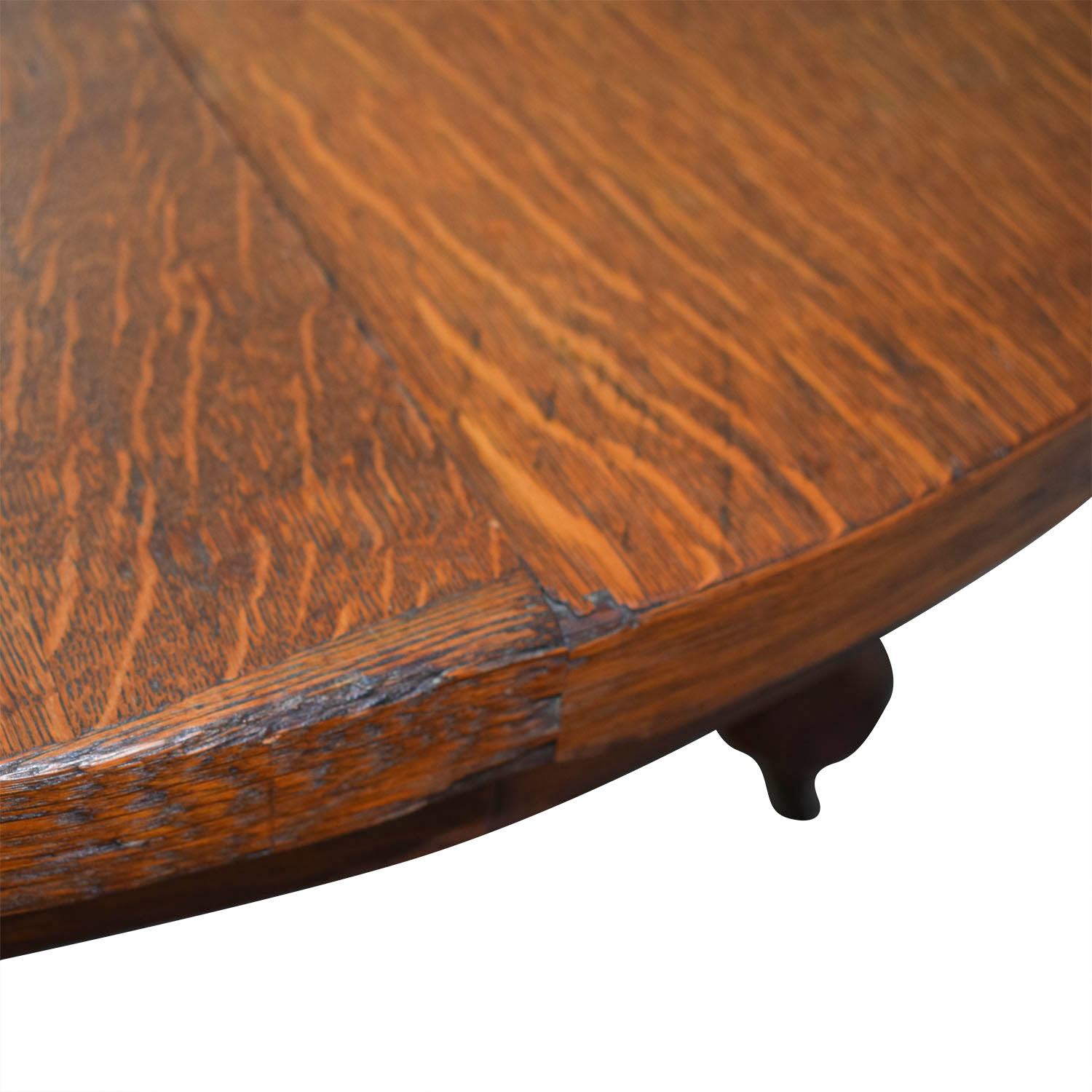 Round Oak Coffee Table discount