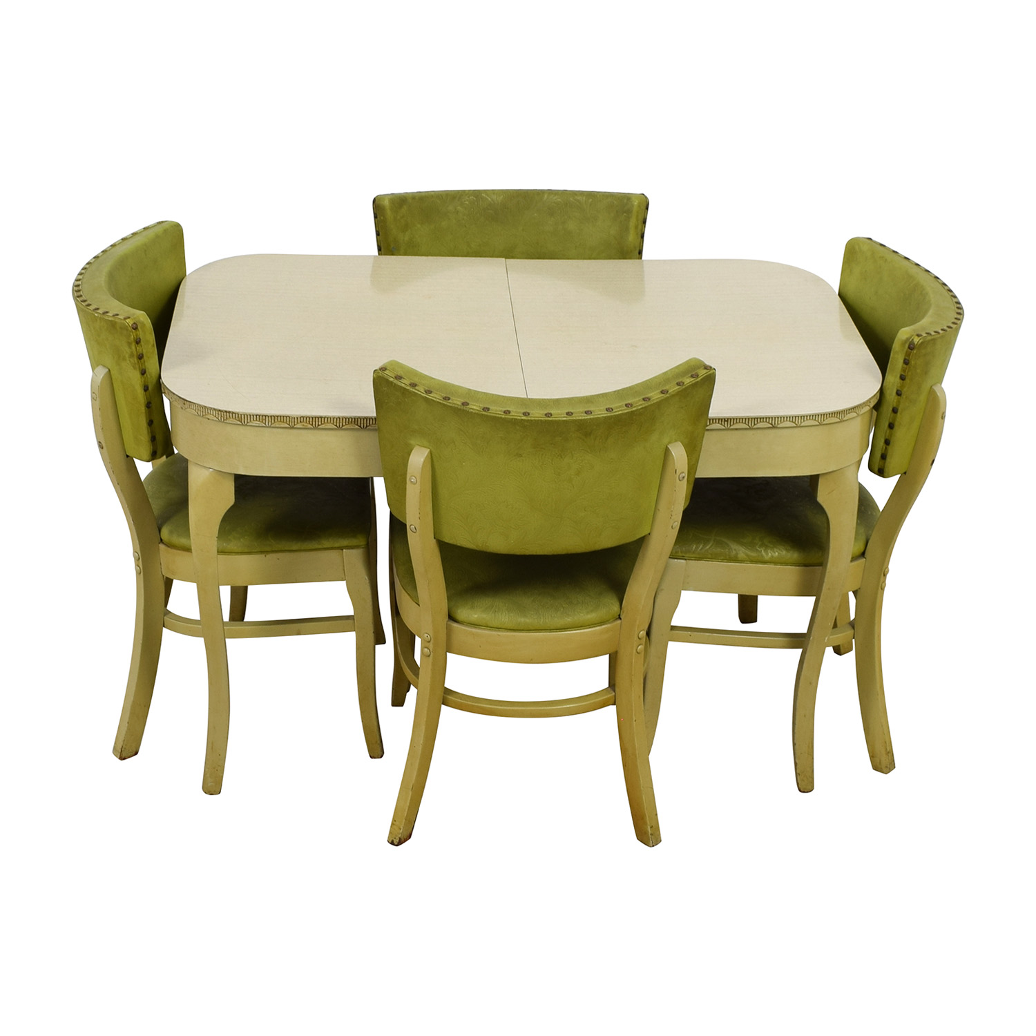 Green Formica Kitchen Dining Set coupon
