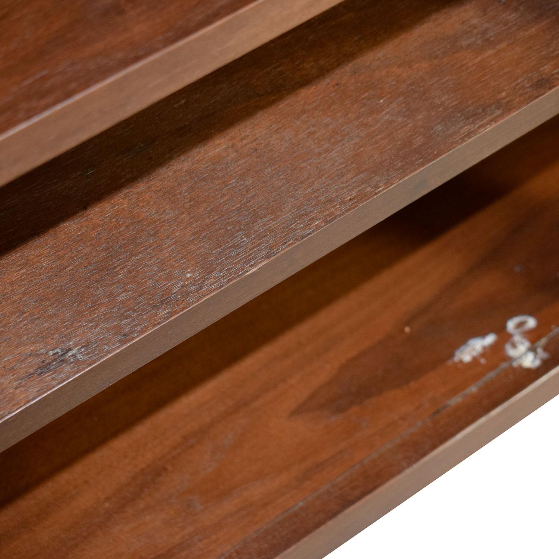 Walnut Cabinet with Shelves nj
