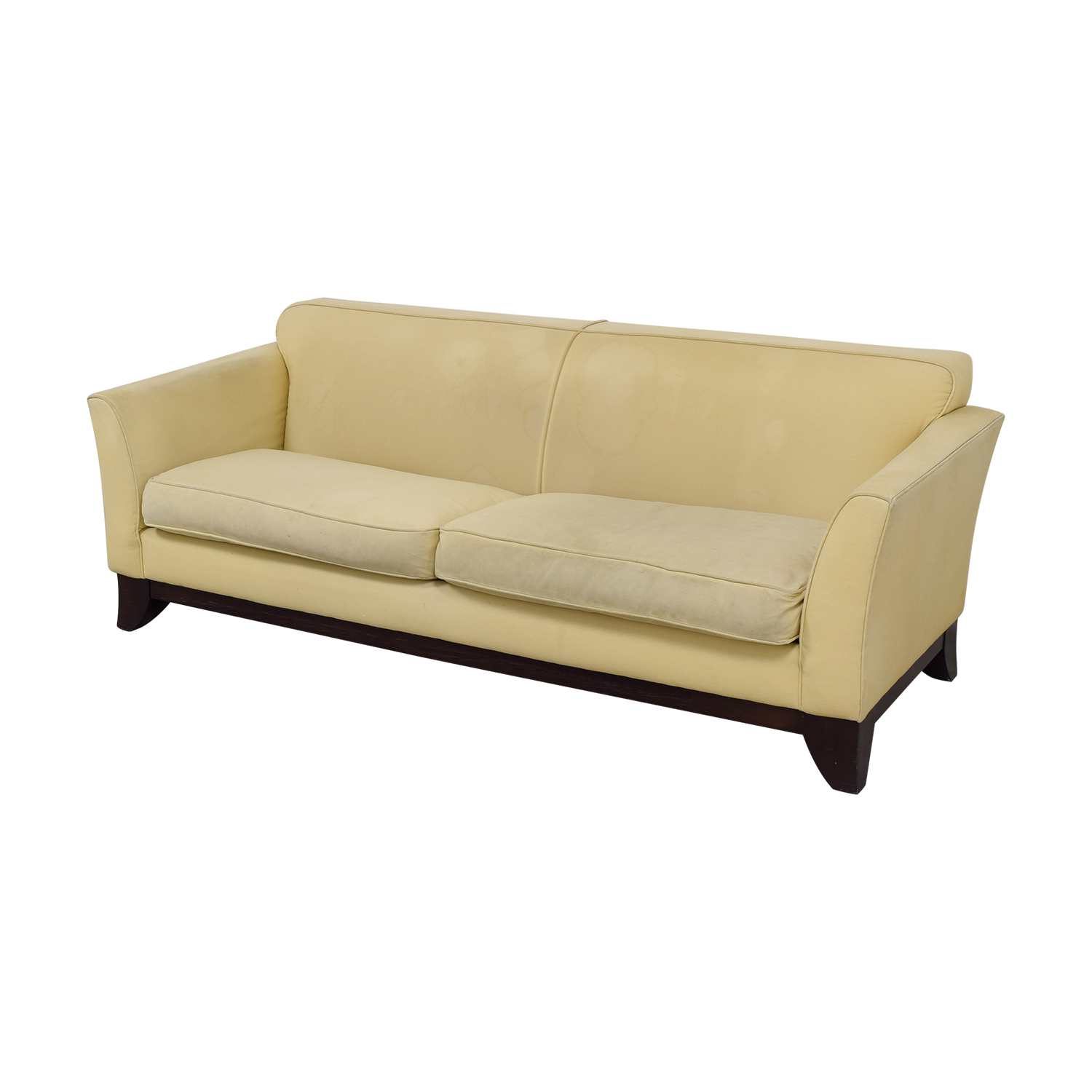 Pottery Barn Pottery Barn Beige Upholstered Two