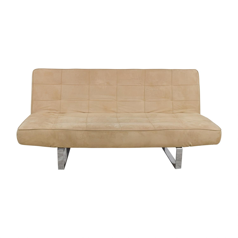 73% OFF - BoConcept BoConcept Zen Beige Convertible Sofa / Sofas