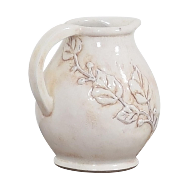 Pottery Barn Pottery Barn Pitcher Vase Decorative Accents