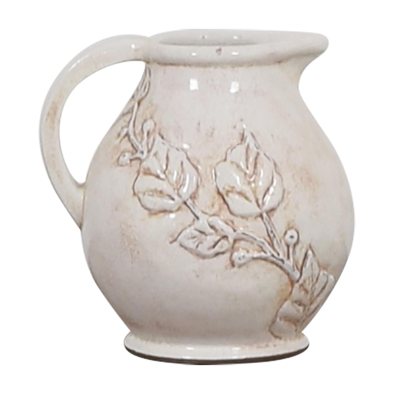 Pottery Barn Pottery Barn Pitcher Vase Decor