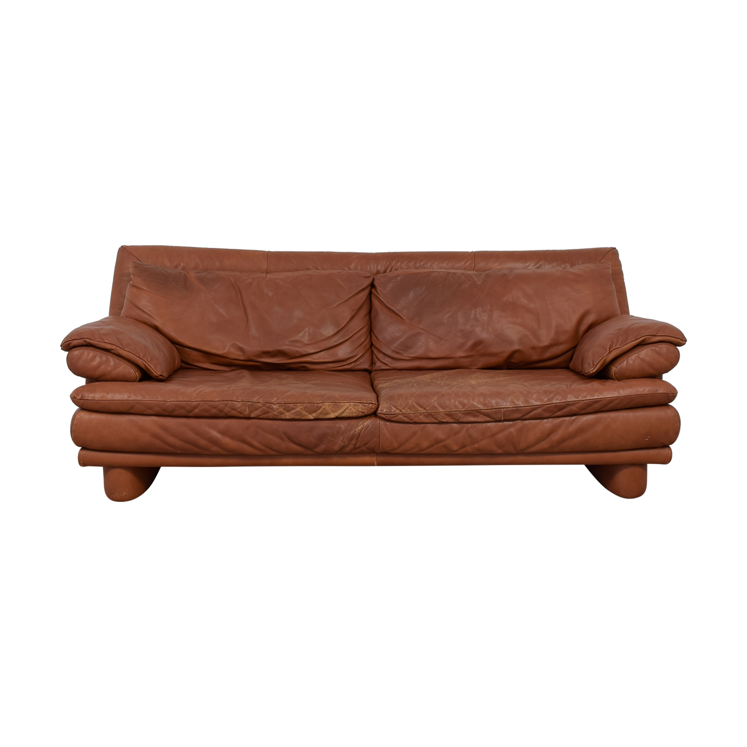 Genial Shop Maurice Villency Brown Leather Sofa Maurice Villency Classic Sofas ...