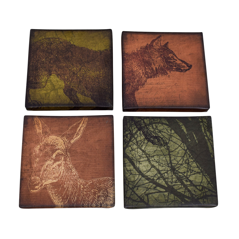Wildlife Wrapped Canvas Art sale