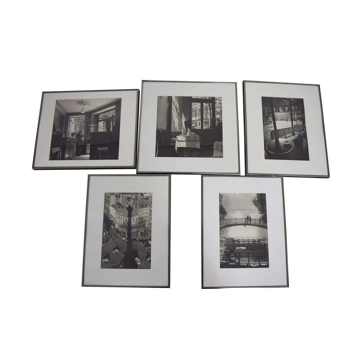 Black and White Pictures of Paris discount