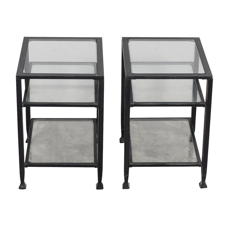 shop  Glass & Metal Side Tables online