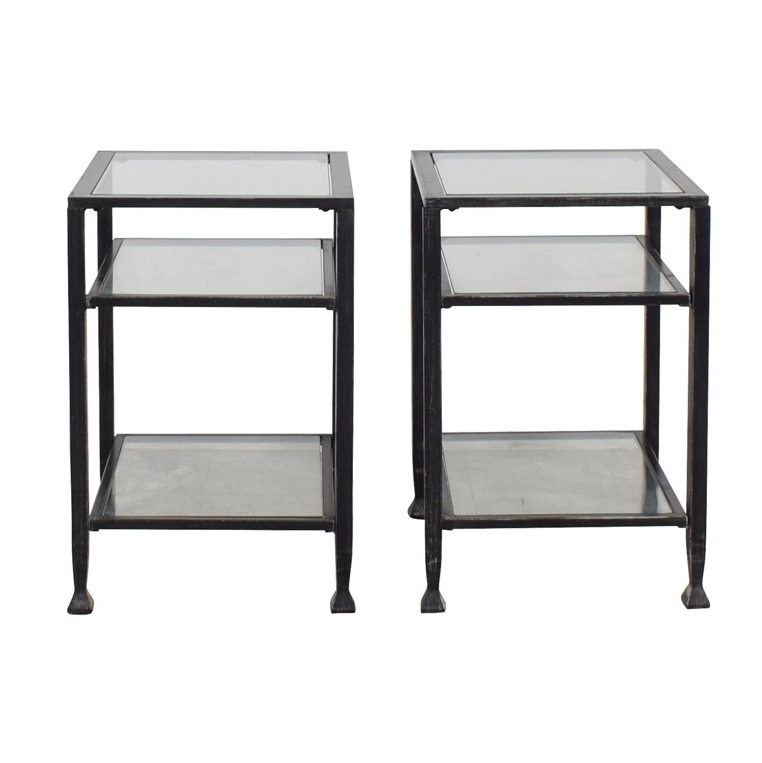 Glass & Metal Side Tables price
