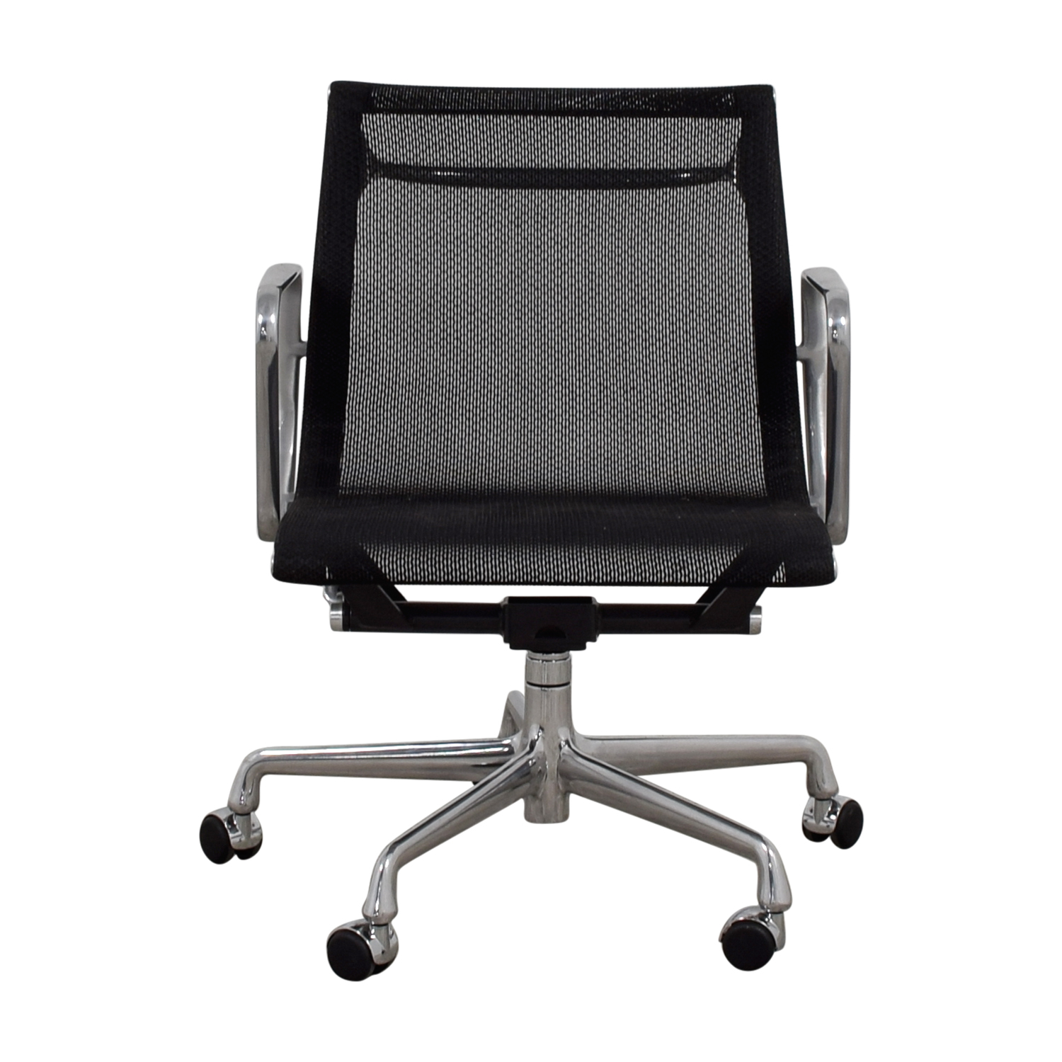 shop Eames Aluminum Group Management Mesh Chair Eames Aluminum Group Home Office Chairs
