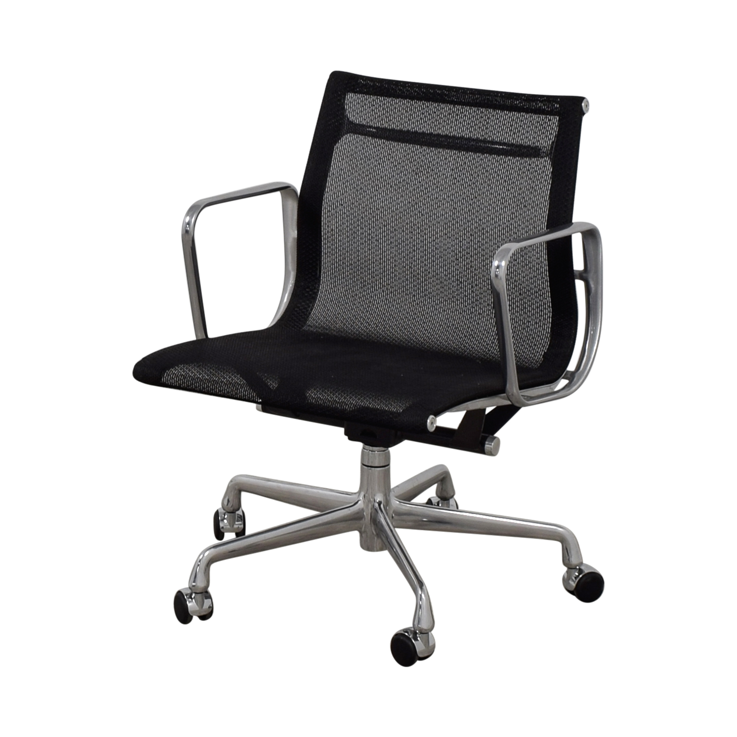 Eames Aluminum Group Management Mesh Chair Eames Aluminum Group