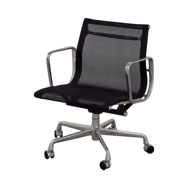 Eames Aluminum Group Management Mesh Chair Eames Aluminum Group