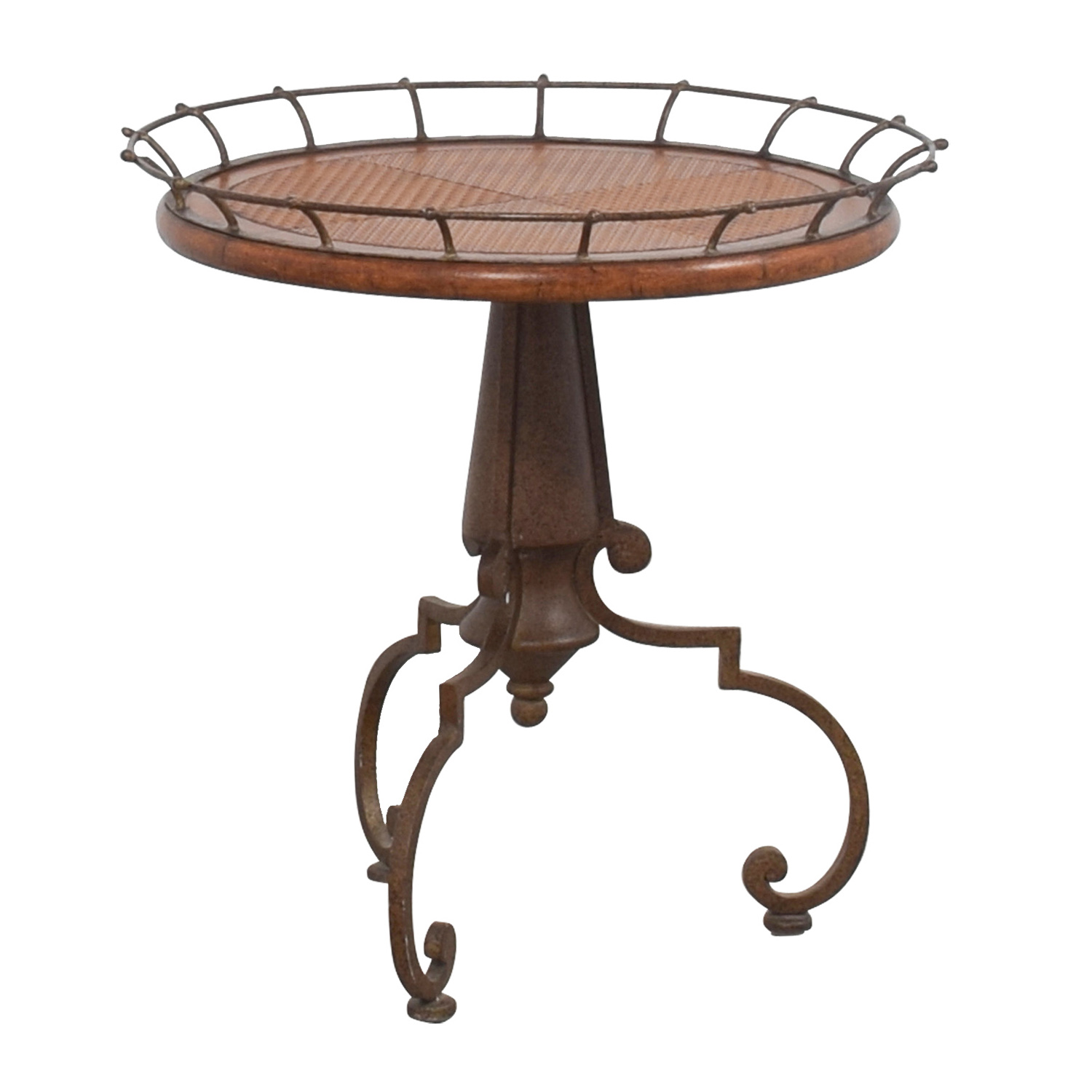 buy Metal Ornate End Table  End Tables
