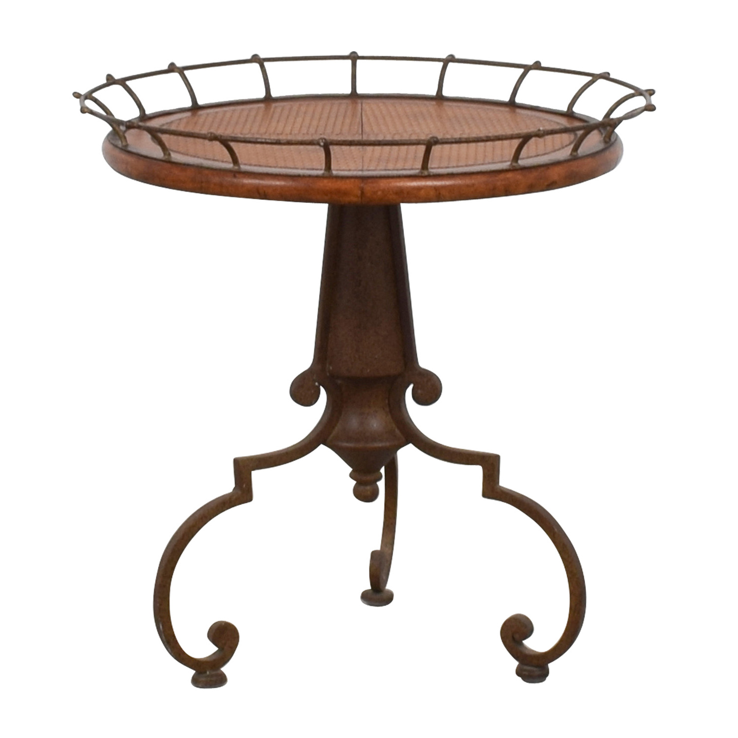 shop Metal Ornate End Table  End Tables