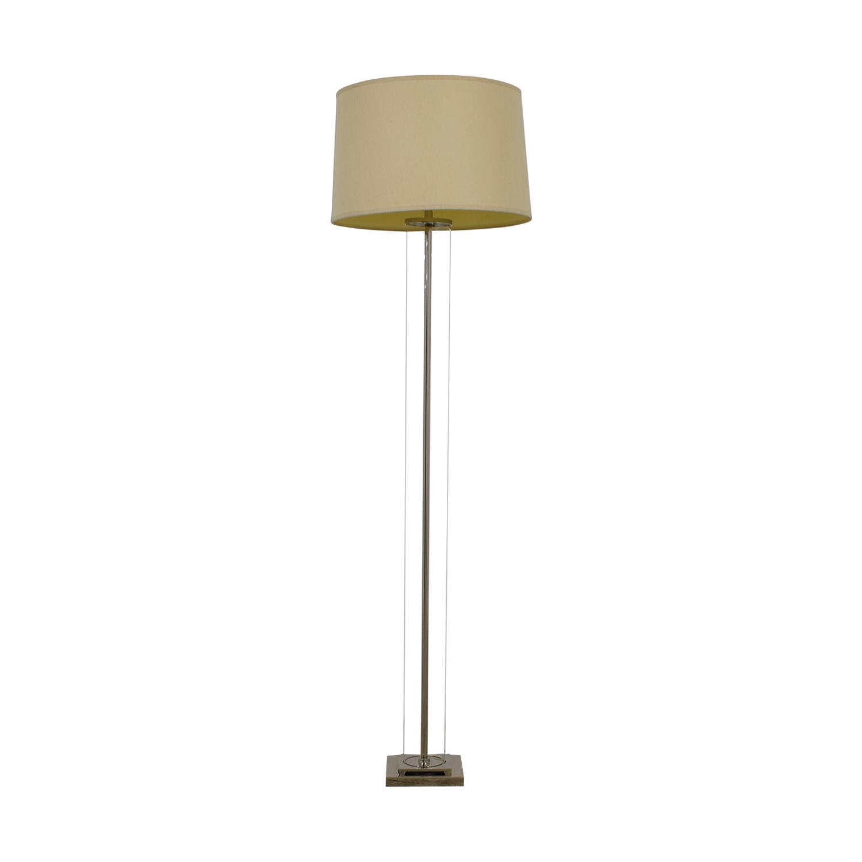 Restoration Hardware Restoration Hardware French Column Glass Lamp nyc