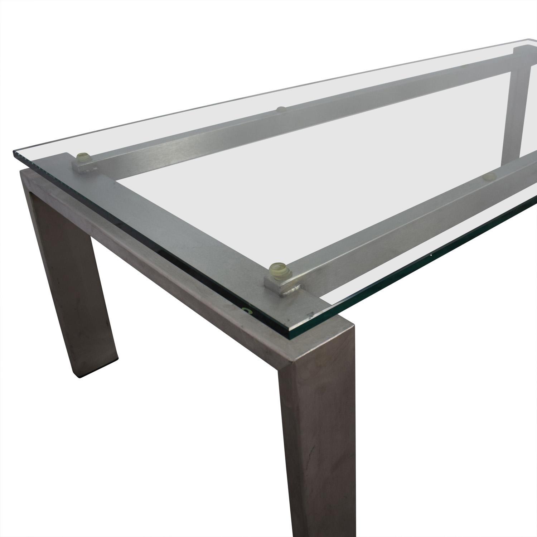 - 88% OFF - Room & Board Room & Board Rand Custom Coffee Table / Tables