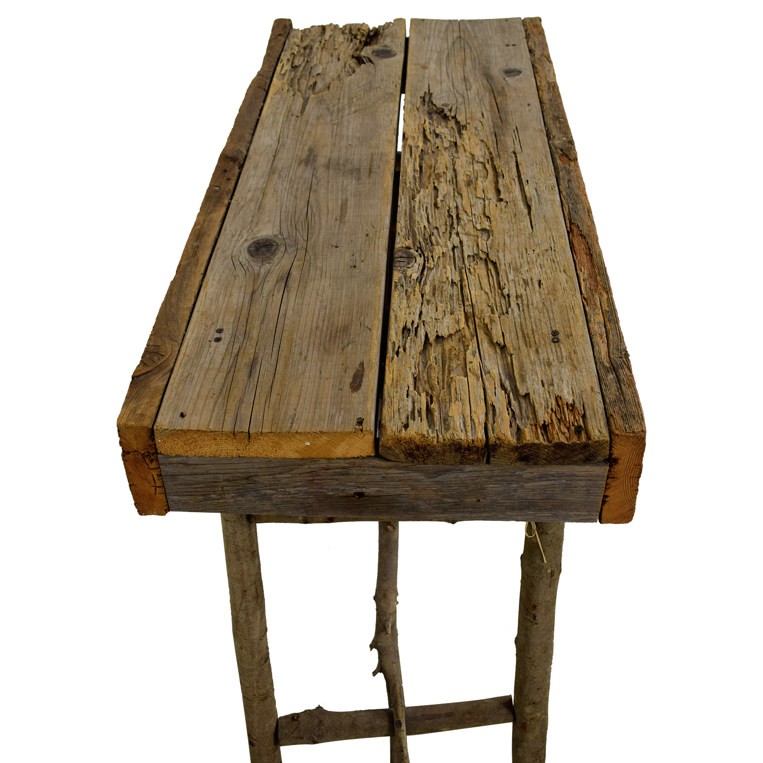 Rustic Wood Accent Table / Tables