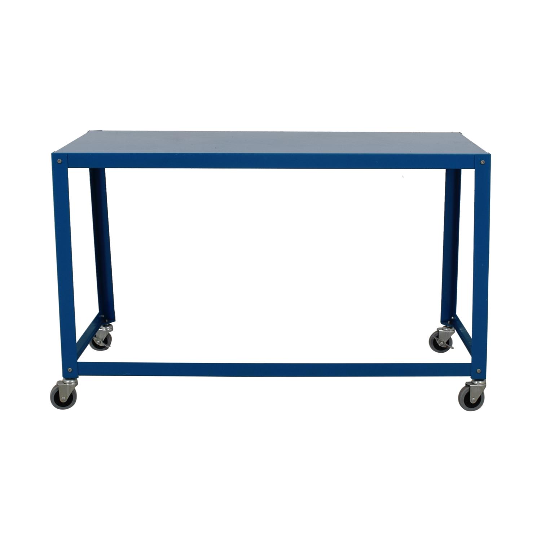 Cb2 Go Cart Rolling Desk