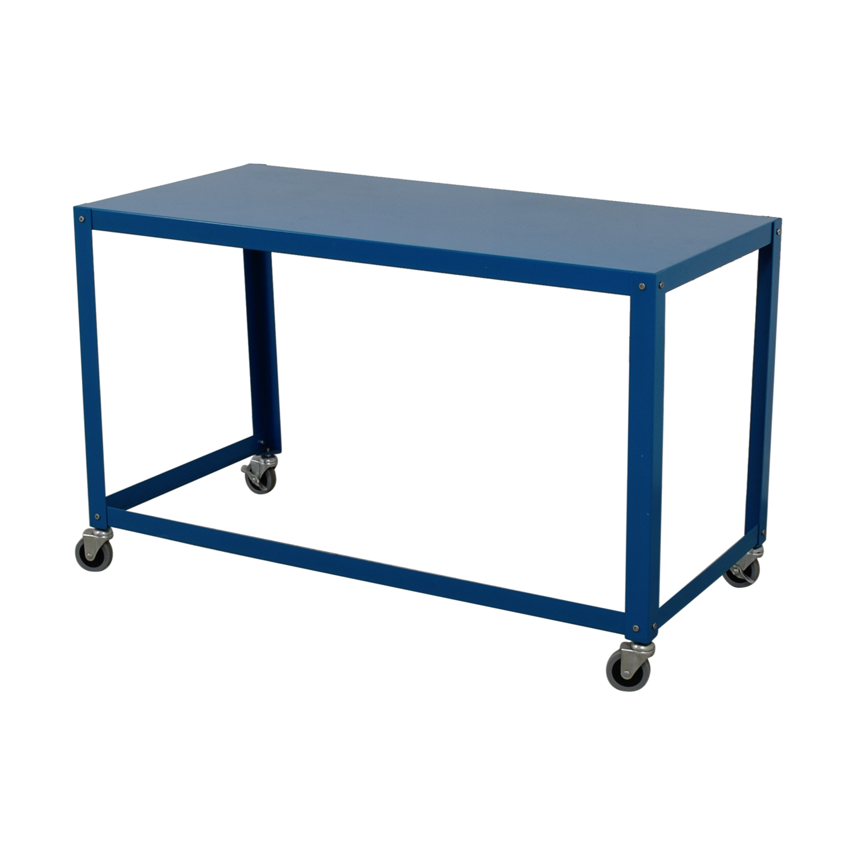 CB2 CB2 Go-Cart Rolling Desk for sale