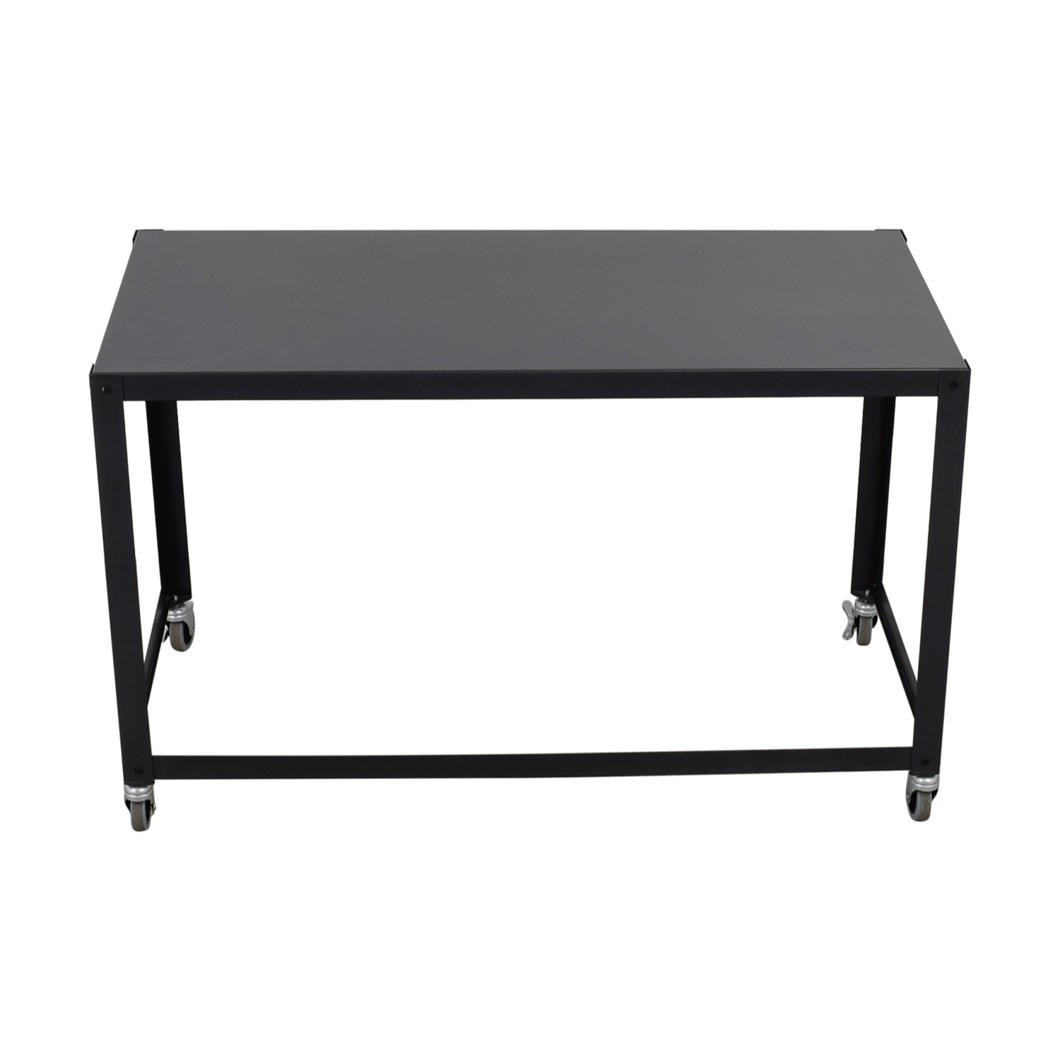 44% OFF   CB2 CB2 Go Cart Rolling Desk / Tables