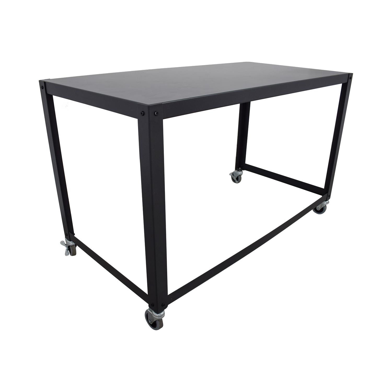CB2 CB2 Go-Cart Rolling Desk nj