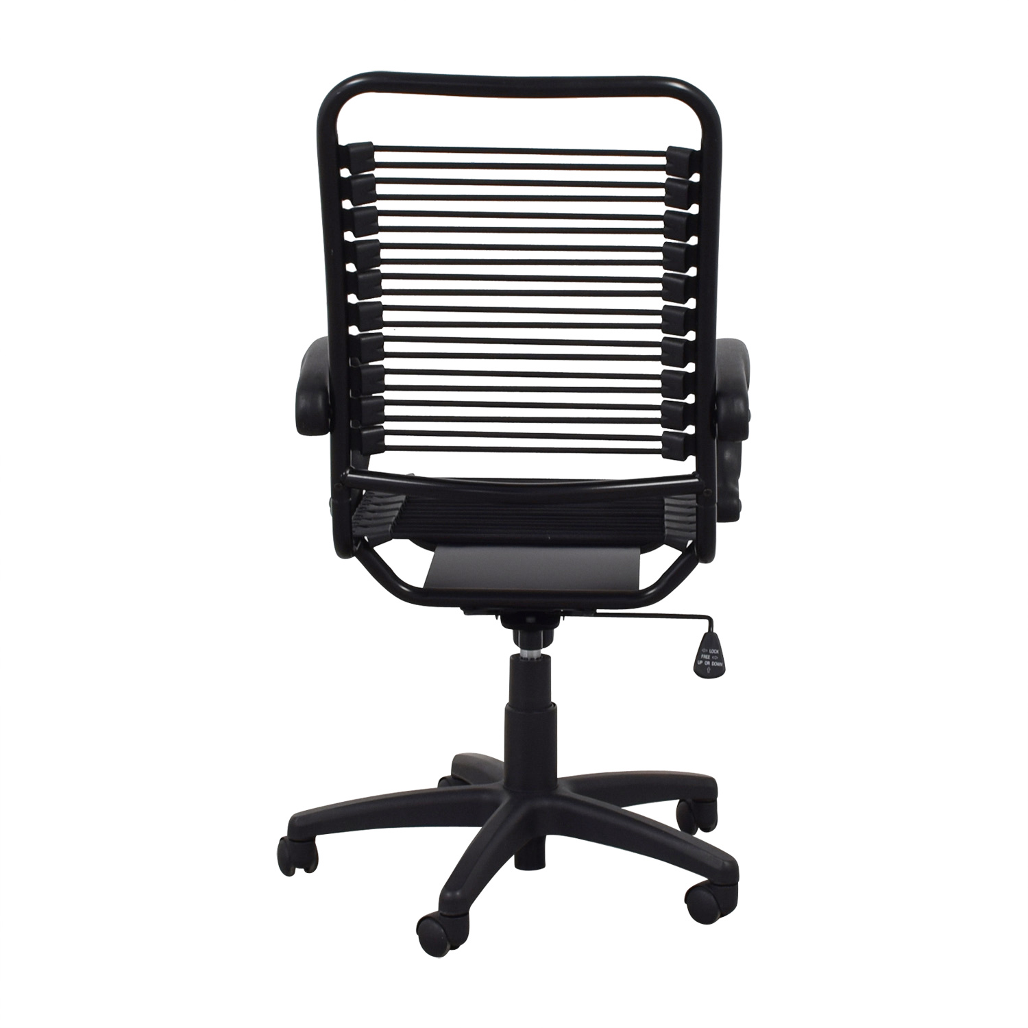 buy CB2 Black Studio Office Chair CB2 Home Office Chairs