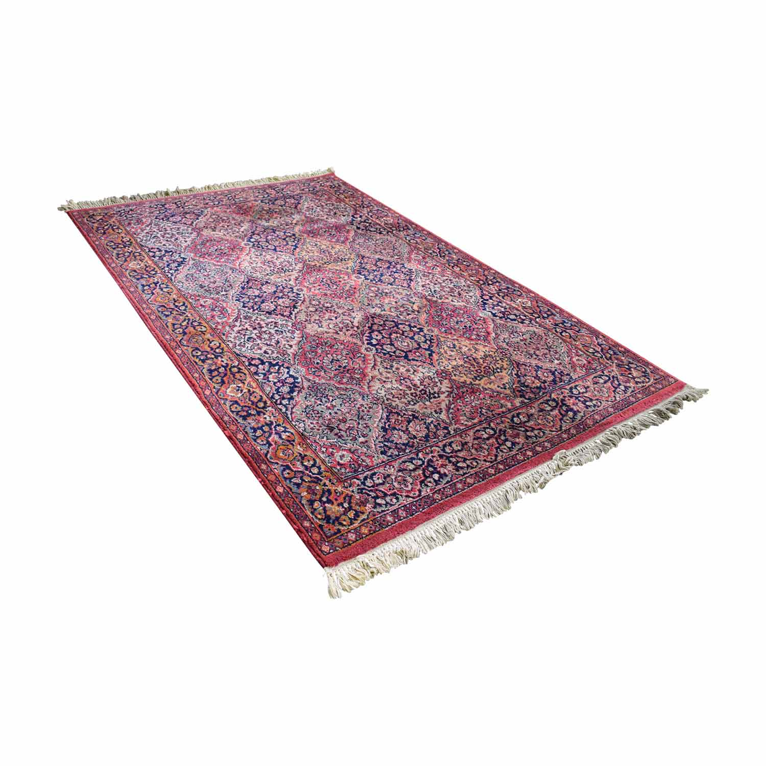Sears Sears Kismet Red and Blue Multi-Colored Oriental Rug price