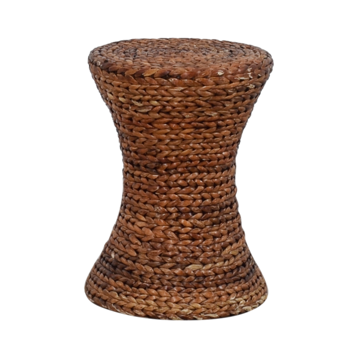 Woven Side Table sale