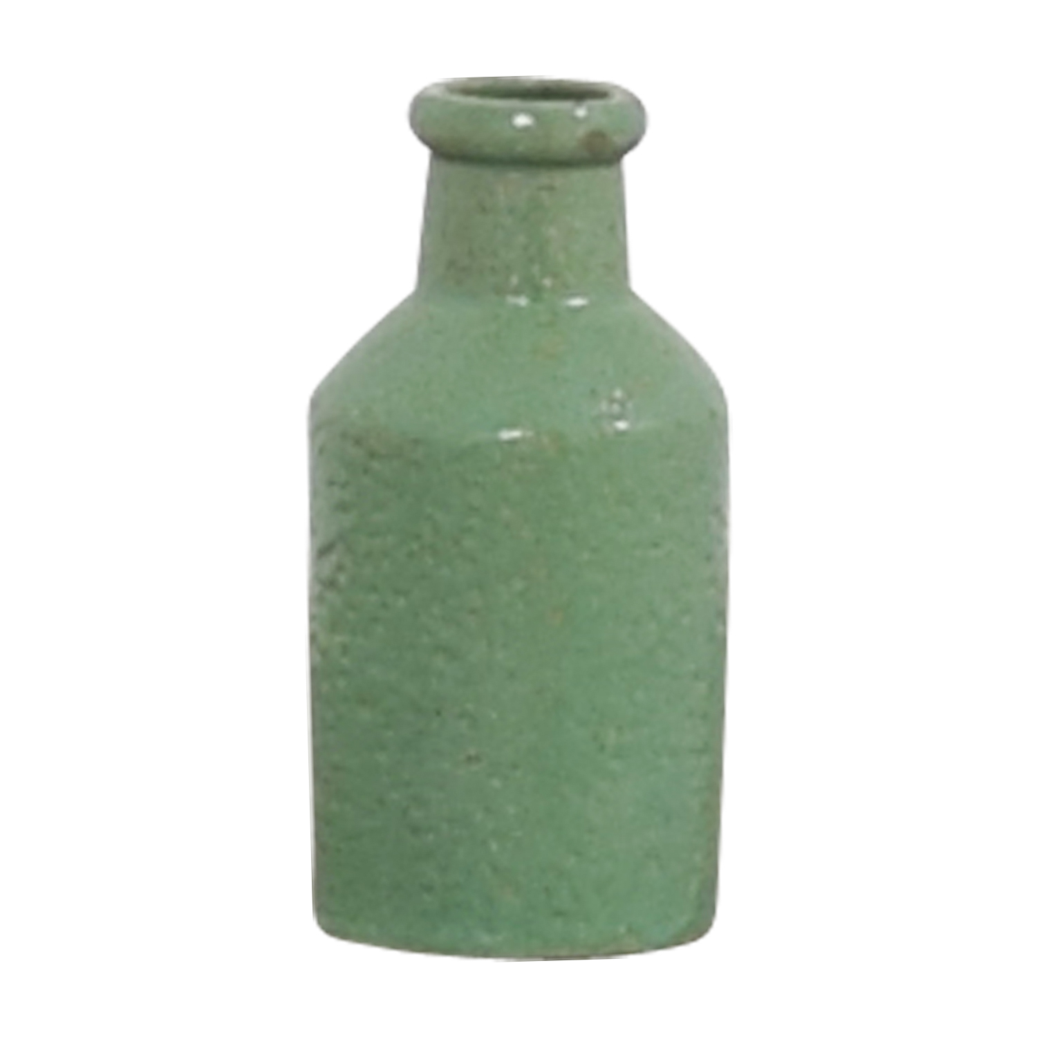 Green Ceramic Bottle / Sofas
