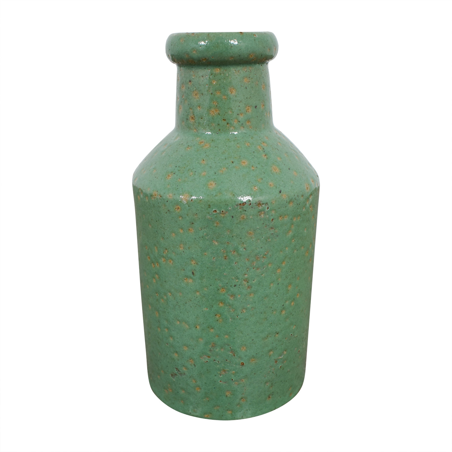 Green Ceramic Bottle second hand