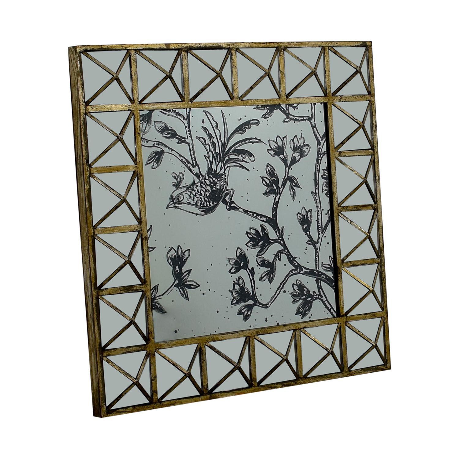 HomeGoods HomeGoods Etched Decorative Mirror dimensions