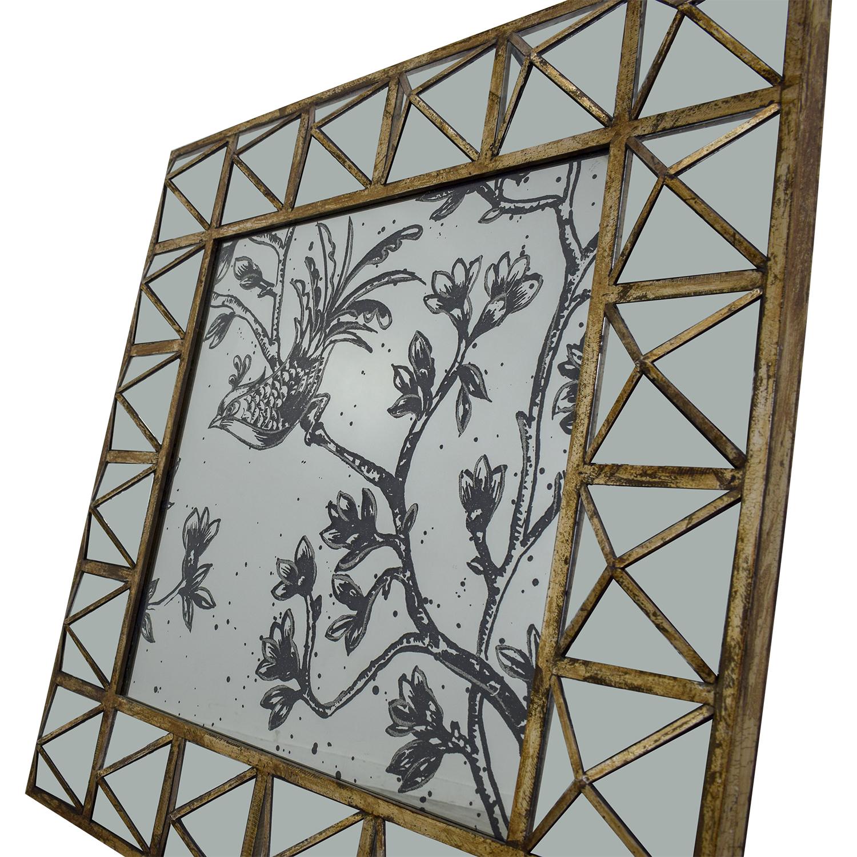 HomeGoods HomeGoods Etched Decorative Mirror second hand