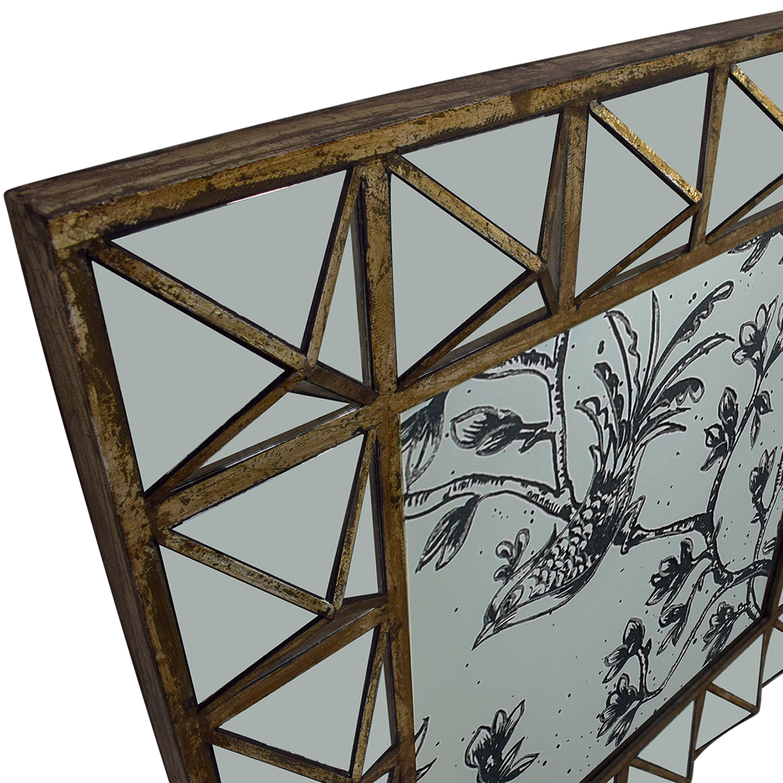 HomeGoods HomeGoods Etched Decorative Mirror discount