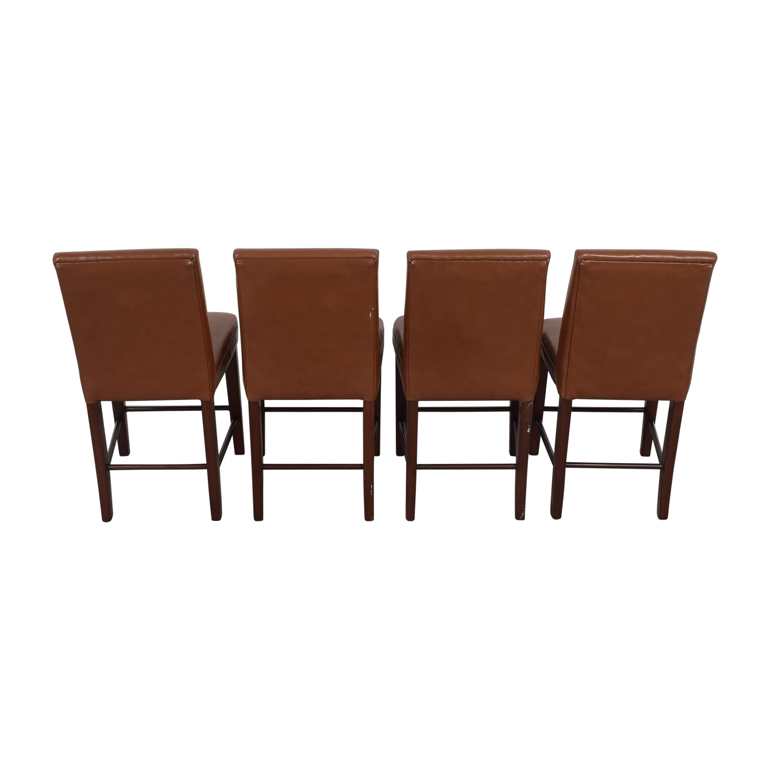 Cognac Leather Dining Chairs nyc