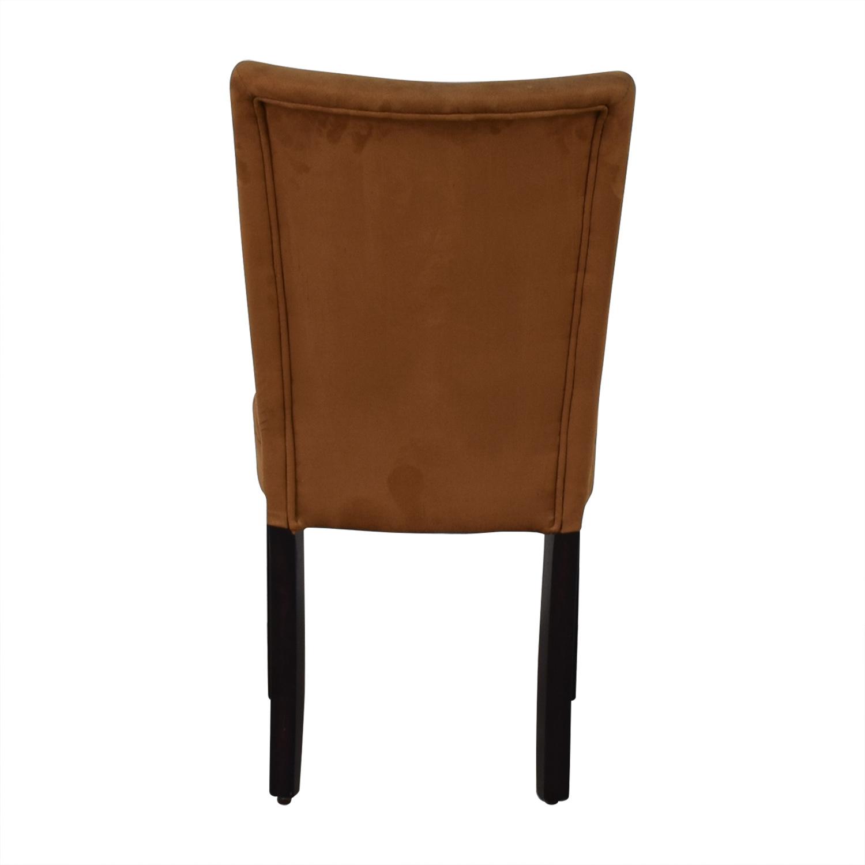 buy Brown Microfiber Chair