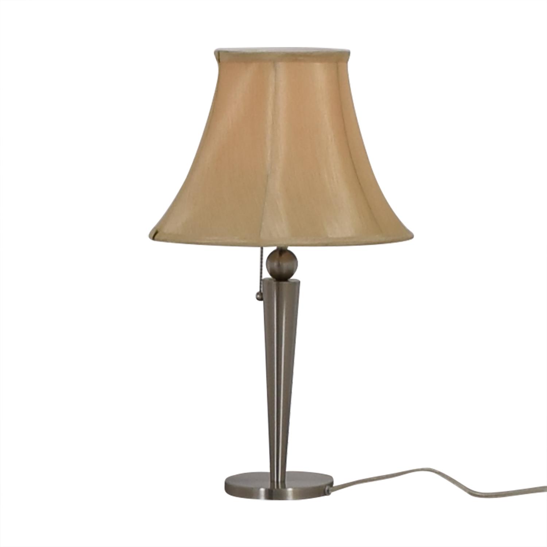 Silver Desk Lamp discount