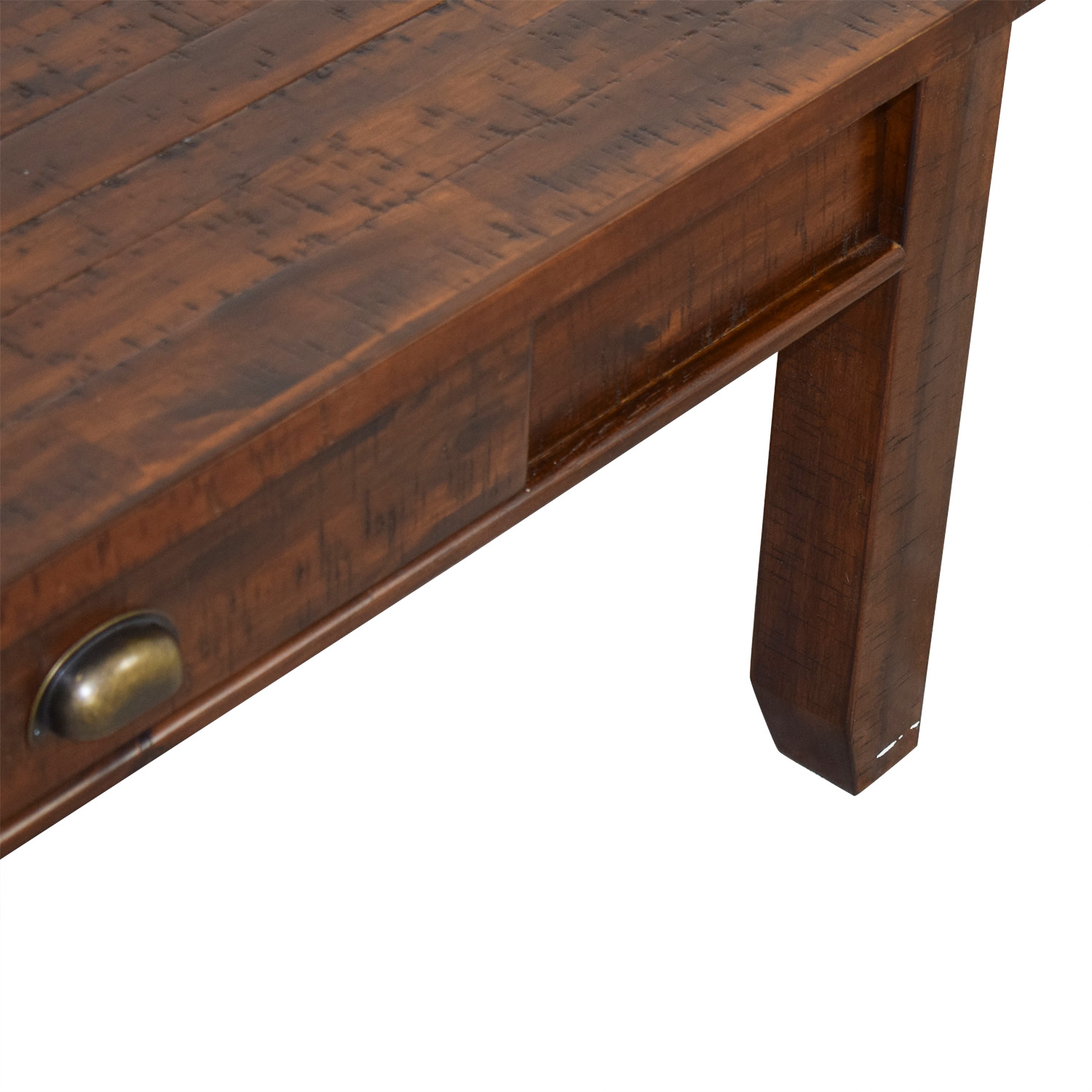 Raymour & Flanigan Raymour & Flanigan Urban Lodge Coffee Table brown